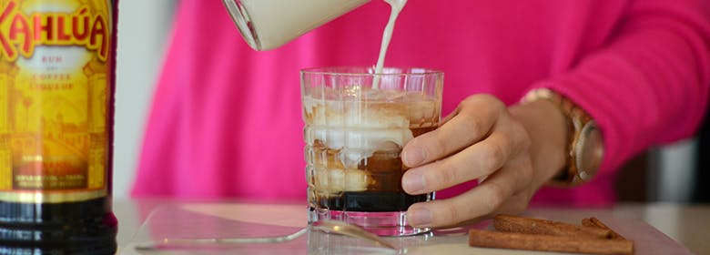 Chai White Russian with a Twist (non-dairy)