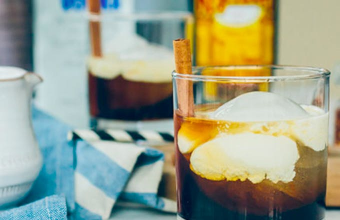Spiced White Russian