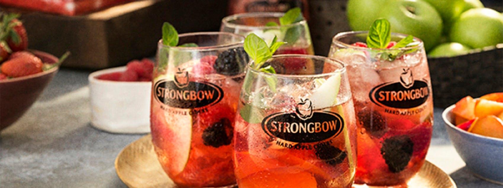 Strongbow Cherry Blossom Sangria