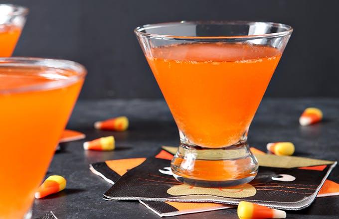 Candy Corn Martini