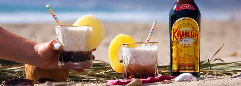 White Russian on Spring Vacation